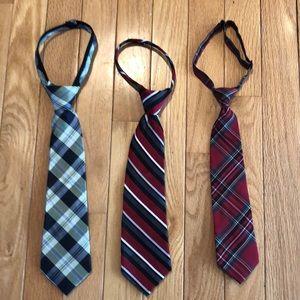 Boys ties-lot of 3